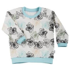 Shirt LS/SS Octopus Aqua