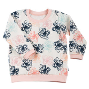 Shirt LS/SS Octopus Peach