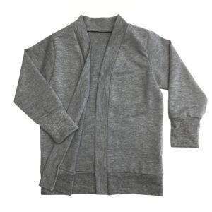 Oversized Cardigan Grey Melange