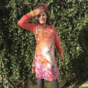 A-line Dress LS/SS Confetti Time