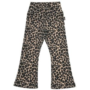 Flared Legging Leopard Beige
