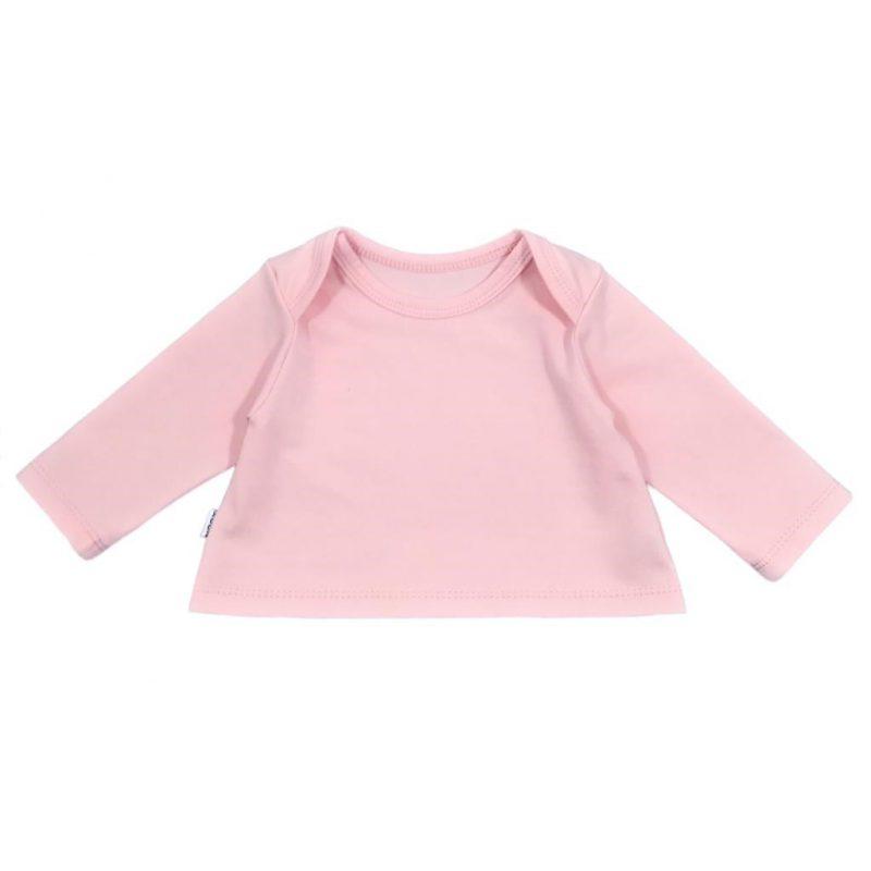 Crop Top babyshirt Perzik-Roze