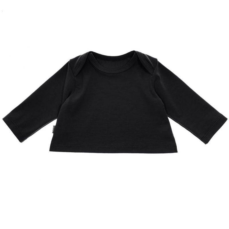 Crop Top Zwart babyshirtje