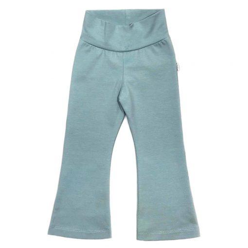 Flared Legging Zeeblauw flarebroek