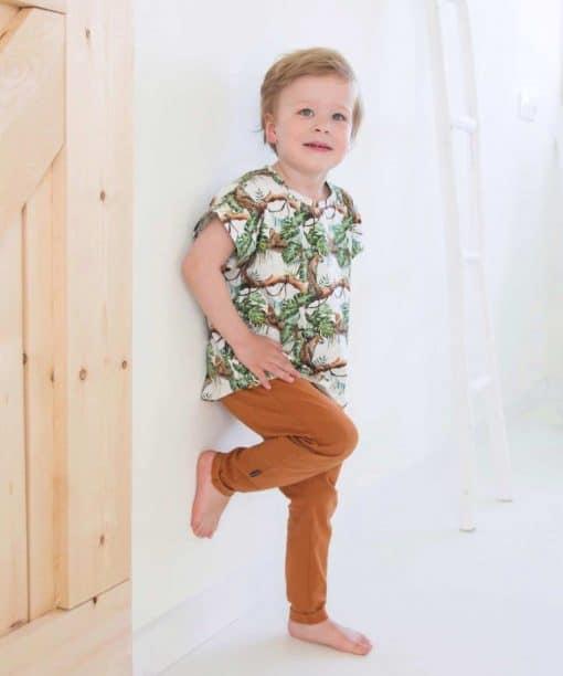 Kinderkleding jongenskleding handgemaakt panter