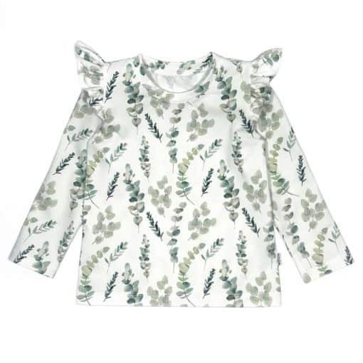Roezels Shirtje Eucalyptus handgemaakt