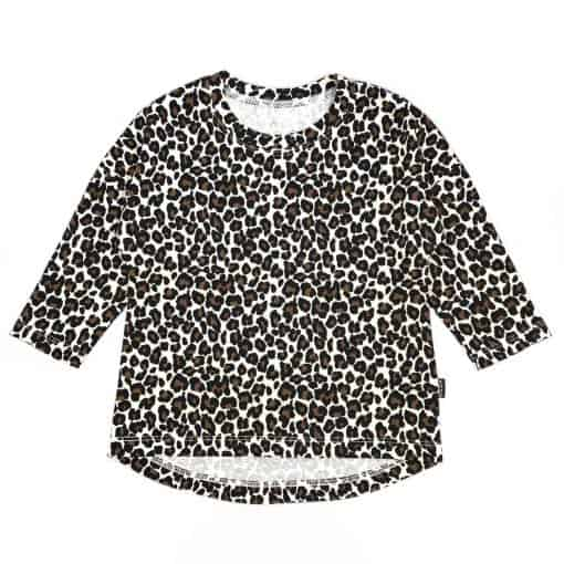 Shirt kindermode handgemaakt Panterprint
