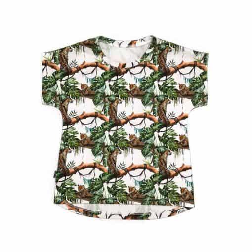 T-shirt Jungle Panter handgemaakt kindershirt