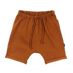 Loosefit shorts Loungebroek Cognac zomer