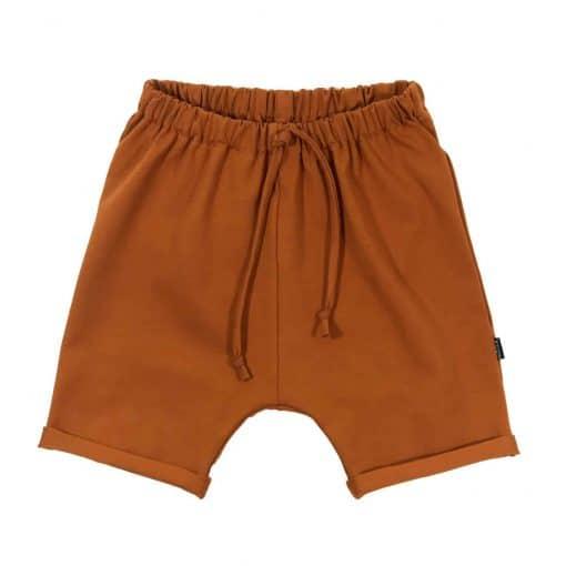 Loosefit shorts Loungebroek Cognac zomer