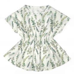 Spreidbroek jurkje zomerjurk pavlik bandage eucalyptus