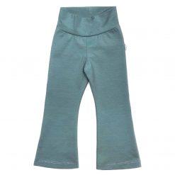 Flared pants legging zeeblauw donker bio