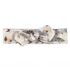 Haarband Knoophaarband Handgemaakt Gedroogde Bloemen