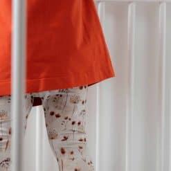 Legging Droogbloemen Handgemaakt Kinderlegging