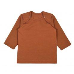 Babyshirtje Shirtje Cognac Newbornshirt