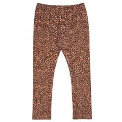 Legging Panterprint Leopard Handmade Steenrood