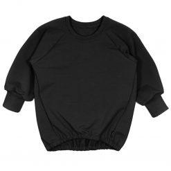 Oversized Sweater Zwart Handgemaakt