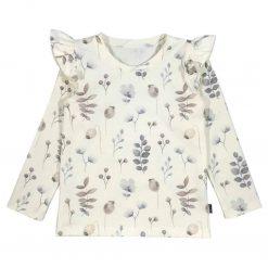 Ruffles Roezels Shirt Handgemaakt Papaver Biologisch