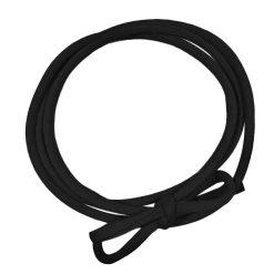Strikbandje Zwart Handgemaakt
