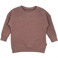 Sweater Ribjersey Mauve Handgemaakt