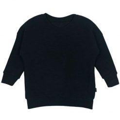 Sweater Ribjersey Zwart Handgemaakt