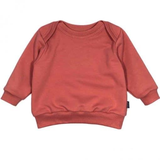 Babysweater Newborn Merkkleding Marsala Handgemaakt