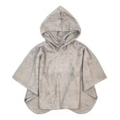 Poncho Kinderponcho Zwemponcho Bamboe Taupe