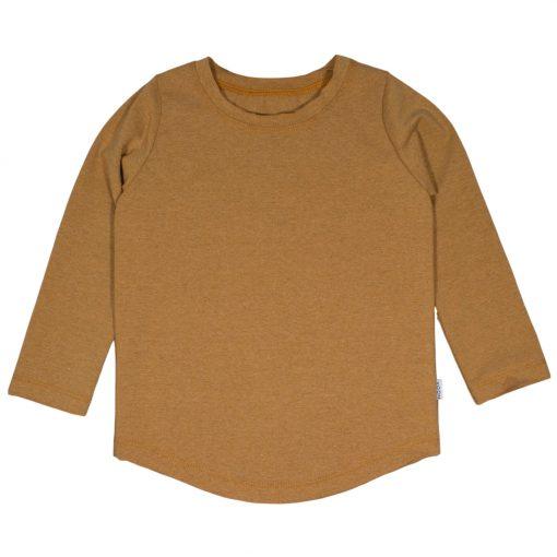 Handgemaakt Shirt Jongenskleding Oker Raw Edge Stoer