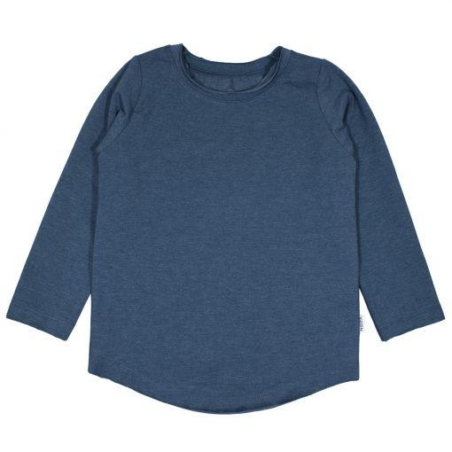 Handgemaakt Shirt Jongensshirt T-Shirt Blauw Handmade