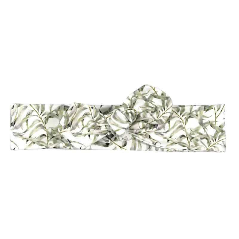 Knoophaarband Knoopband Haarband Olijfbladeren Blaadjes