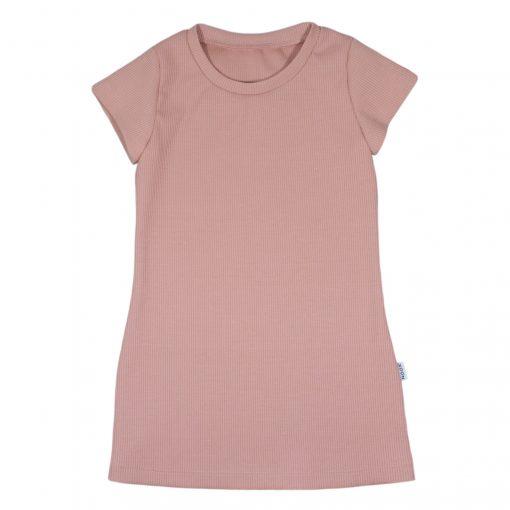 Ribjurkje Roze Handgemaakt Kinderkleding