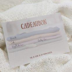Kraamcadeau Kraamkado Cadeaubon Kadobon Babyshower Cadeautje