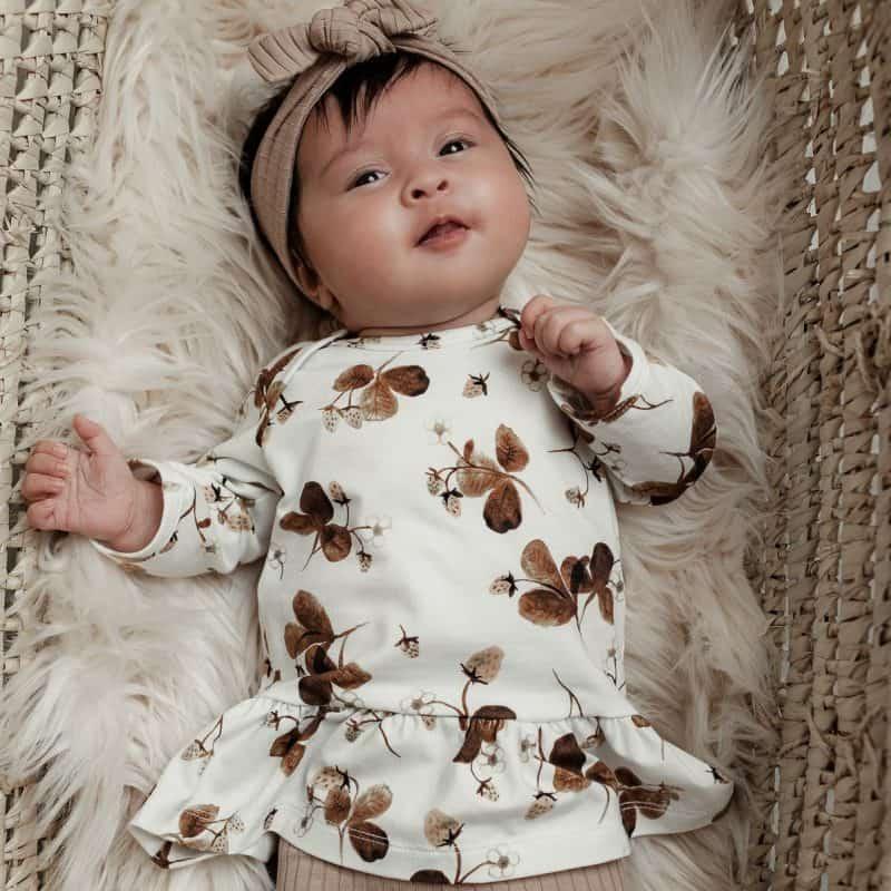 Babyjurkje Jurkje Aardbeitjes Newbornjurkje Babykleertjes